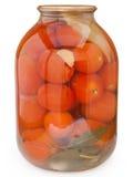 замаринованные красные томаты Стоковые Фото