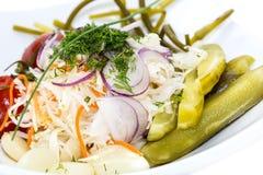 Замаринованные овощи Стоковое Изображение RF