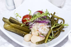 замаринованные овощи Стоковое Изображение