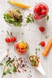 замаринованные овощи Стоковые Фотографии RF