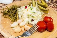 замаринованные овощи Стоковая Фотография RF