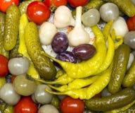 замаринованные овощи Стоковые Изображения