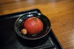 Замаринованные томаты сливы Стоковая Фотография