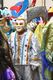 Замаскированные диаграммы в параде масленицы, Перу Стоковое фото RF