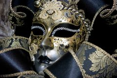 замаскируйте venetian стоковое фото rf