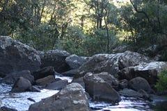 Замбия реки Kaombe стоковая фотография rf