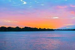 Замбия zambezi реки стоковые фотографии rf