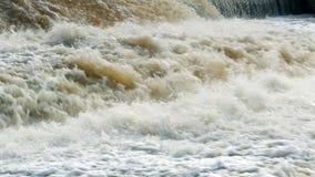 Замедленное движение водопада видеоматериал