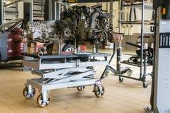 Замена двигателя Стоковые Фотографии RF