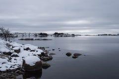 замерзая море Стоковое фото RF