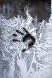 замерзая рука Стоковые Фотографии RF