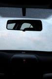 замерли автомобиль, котор Стоковая Фотография