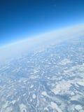 замерли земля, котор Стоковая Фотография RF