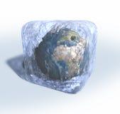 замерли земля, котор иллюстрация вектора