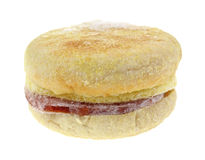 Замерли сыр бекона Турции английской булочки, который Стоковое Изображение RF