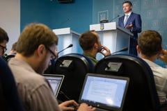 Заместитель главы президентской администрации Украины Dmytr стоковая фотография rf