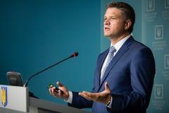 Заместитель главы президентской администрации Украины Dmytr стоковые фото