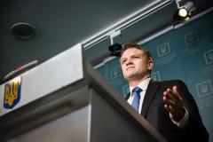 Заместитель главы президентской администрации Украины Dmytro стоковое фото rf