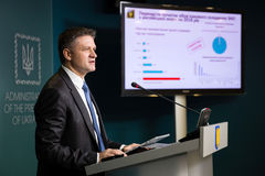 Заместитель главы президентской администрации Украины Dmytro стоковые фотографии rf