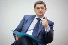 Заместитель главы президентской администрации Украины Vitaliy Ko стоковая фотография