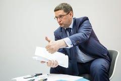 Заместитель главы президентской администрации Украины Vitaliy Ko стоковое изображение rf