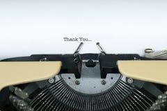 заметьте возблагодарите вас Стоковое Изображение RF