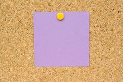 заметьте пурпур столба Стоковые Изображения