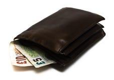 замечает бумажник стоковые фотографии rf