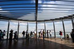 замечание khalifa Дубай палубы burj Стоковое Изображение