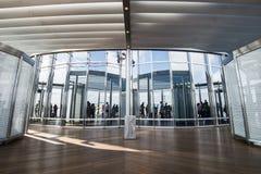 замечание khalifa Дубай палубы burj Стоковые Изображения RF