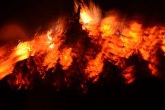 Замедляйте огонь стоковая фотография rf