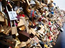 Замки влюбленности Стоковая Фотография RF