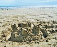 Замки в песке Стоковая Фотография
