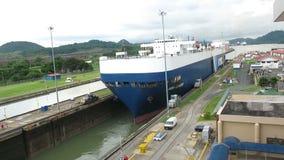 Замки Панамского Канала, перевозка, доставка, транспорт сток-видео