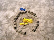 Замки песка Стоковое Изображение