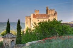 Замоки Beynac Стоковое Изображение