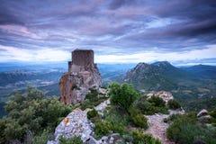Замоки Queribus стоковые фотографии rf