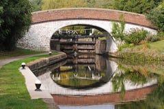 замок Англии канала моста Стоковое Фото