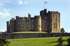 замок Англия alnwick Стоковое Изображение