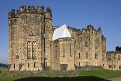 замок Англия alnwick Стоковая Фотография