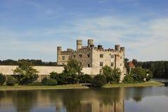 замок Англия kent leeds Стоковое Изображение