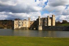 замок Англия leeds Стоковое Изображение