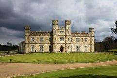 замок Англия leeds Стоковое Изображение RF