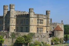 замок Англия kent leeds Стоковые Изображения RF
