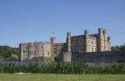 замок Англия leeds Стоковое Фото