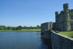 замок Англия leeds Стоковые Изображения RF