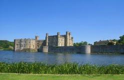 замок Англия leeds Стоковая Фотография
