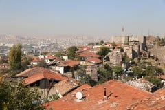 Замок Анкары в Турции Стоковые Изображения RF