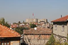 Замок Анкары в Турции Стоковая Фотография RF