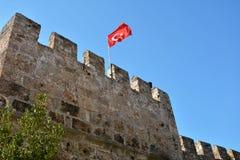 Замок Антальи стоковые фотографии rf